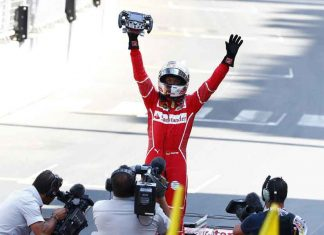 vettel wint grand prix monaco