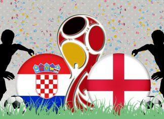 Kroatië - Engeland in halve finale