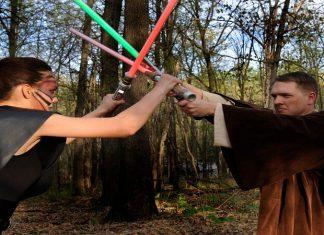 Vechten met Star Wars lichtzwaard is sport in Frankrijk