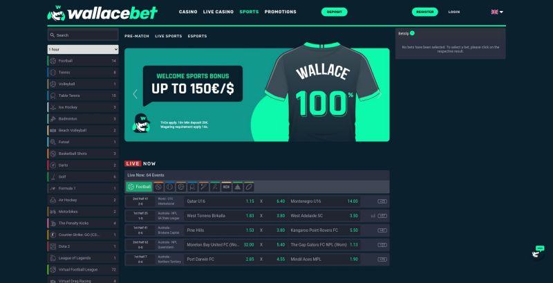 weddenopsport.eu review wallacebet homepage screenshot september 2020